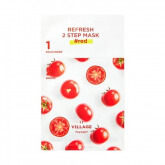 VILLAGE 11 FACTORY  Refresh 2-step Mask Red