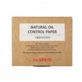 The Saem Natural Oil Control Paper