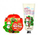 Осветляющая маска для лица Baviphat Urban Dollkiss New Tree Apple Instant Tone-Up Brightening Pack