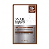 Листовая маска для лица с муцином улитки Secret Key Snail Intensive Mask Pack