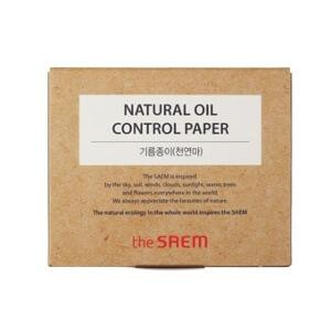 Матирующие салфетки для лица The Saem Natural Oil Control Paper