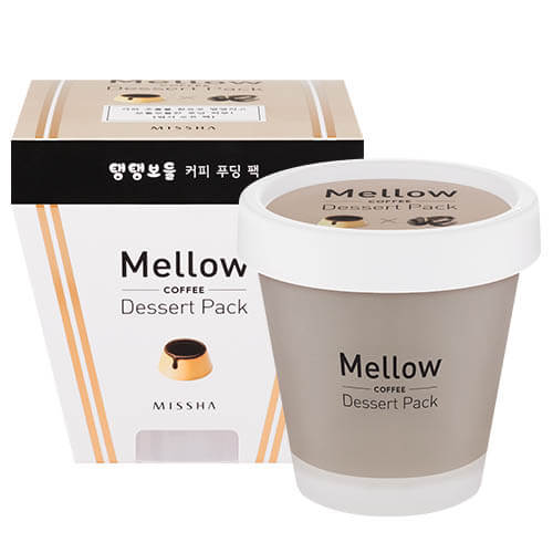 Кофейная маска-пудинг для лица Missha Mellow Dessert Pack (Coffee)