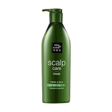 Mise-en-Scene Style Green Refresh Scalp Rinse