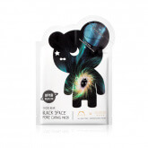 THE OOZOO Oozoo Bear Black Space Pore Caring Mask