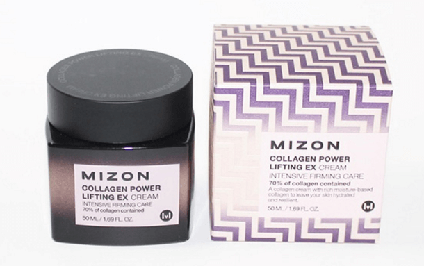 Упаковка mizon collagen power lifting cream