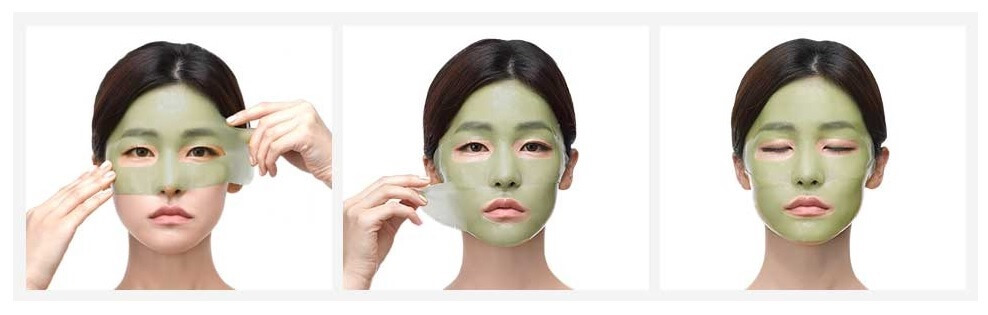 Petitfee Chamomile Lightening Hydrogel Face Mask6.jpg