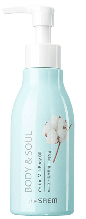 The Saem Body & Soul Cotton Milk Body Oil