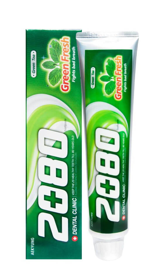 Dental Clinic 2080 Green Fresh Toothpaste