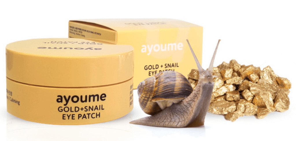 Ayoume Gold+Snail Eye Patch