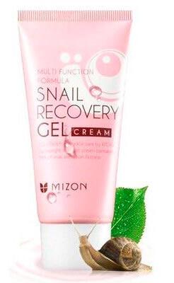 Упаковка Крем гель для лица Mizon Snail Recovery Gel Cream