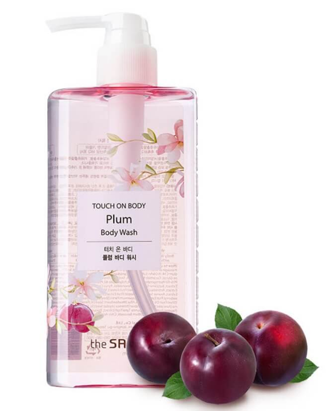 The Saem TOUCH ON BODY Plum Body Wash.jpg