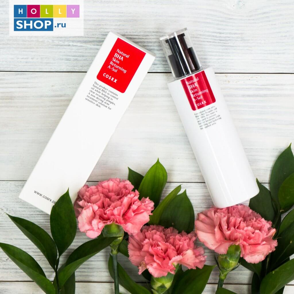 Лечебный тоник COSRX Natural BHA Skin Returning A-Sol