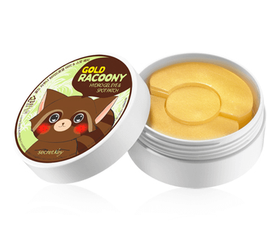 Патчи Secret Key Gold Racoony Hydrogel Eye