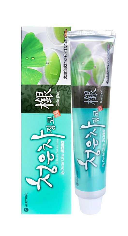 Dental Clinic 2080 Cheong-en-cha Ginkgo Toothpaste