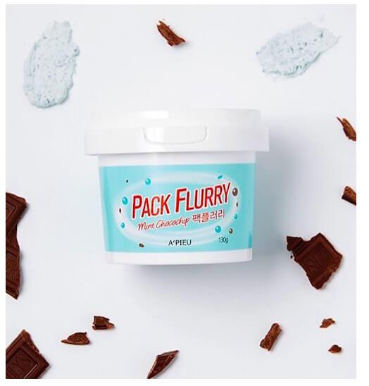 Apieu Pack Flurry Mint Chocochip