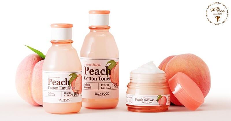 Картинки по запросу Skinfood Premium Peach Cotton Toner