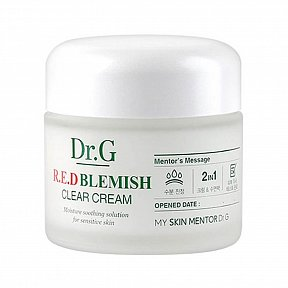 Восстанавливающий крем с 5 видами центеллы Dr.G Red Blemish Clear Soothing Cream