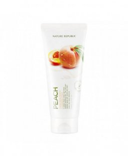 Nature Republic Fresh Herb Peach Cleansing Foam