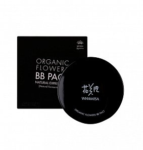 Органический кушон Whamisa Organic Flowers BB Pact Natural Expression SPF50+/PA++++