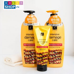 Питательный шампунь с аргановым маслом Elastine Intensive Damage Care Morokan Argan Oil Intensive Nourishing Shampoo