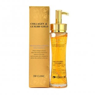 Восстанавливающая эссенция 3W CLINIC Collagen & Luxury Gold Revitalizing Comfort Gold Essence