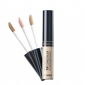 Жидкий консилер The Saem Cover Perfection Tip Concealer