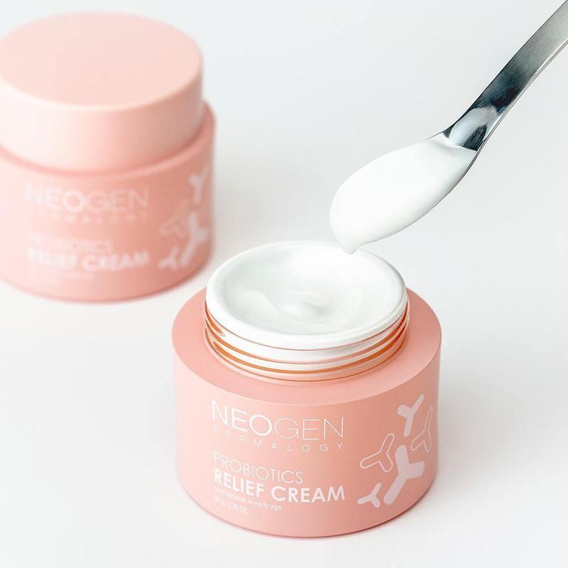 Восстанавливающий крем с пробиотиками и керамидами Neogen Dermalogy Probiotics Relief Cream