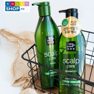 Укрепляющий кондиционер Mise-en-Scene Style Green Refresh Scalp Rinse
