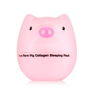 Коллагеновая ночная лифтинг-маска для лица Tony Moly Pure Farm Pig Collagen Sleeping Pack