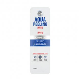 Apieu Aqua Peeling BlackHead Swab Two Step