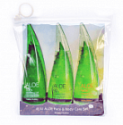 Набор средств для лица и тела на основе сока алоэ вера Holika Holika Jeju Aloe Face and Body Care Set