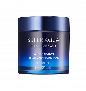 Увлажняющий крем-бальзам Missha Super Aqua Ultra Hyalron Balm Cream Original