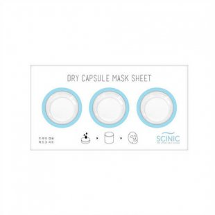 Scinic Dry Capsule Mask Sheet