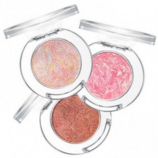 Запеченные тени Holika Holika Jewel-light Marble Cushion Eyes