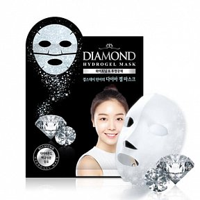 Гидрогелевая маска для лица с алмазной пудрой и платиной Scinic Diamond Hydrogel Mask