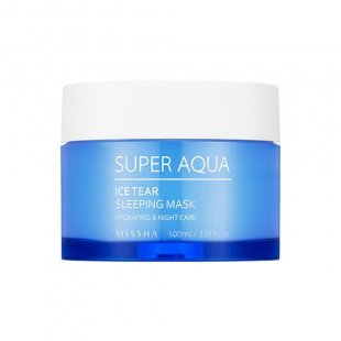Ночная маска с травяным комплексом Missha Super Aqua Ice Tear Sleeping Mask
