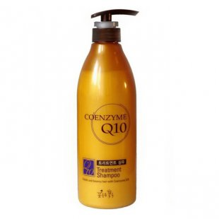 Шампунь с коэнзимом Q10 и керамидами Somang Coenzyme Q10 Treatment Shampoo