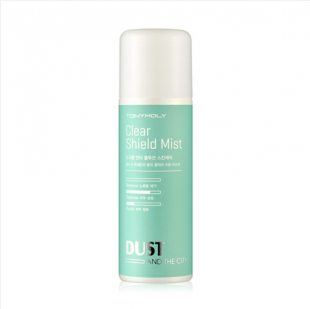 Защитный мист для лица Tony Moly Dust and The City Clear Shield Mist SPF8