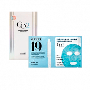 Карбокситерапия Esthetic House Secret19 CO2 Esthetic Formula Carbonic Mask на 1 применение
