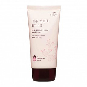 Крем для рук с экстрактом колючей груши Flor de Man Jeju Prickly Pear Hand Cream