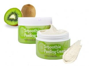 Отшелушивающий пилинг-крем Holika Holika Smoothie Peeling Cream Sunshine Golden Kiwi