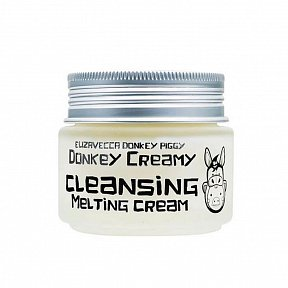 Очищающий крем с молоком ослиц Elizavecca Donkey Piggy Donkey Creamy Cleansing Melting Cream