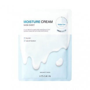 Кремовые тканевые маски для лица It`s Skin Cream Mask Sheet